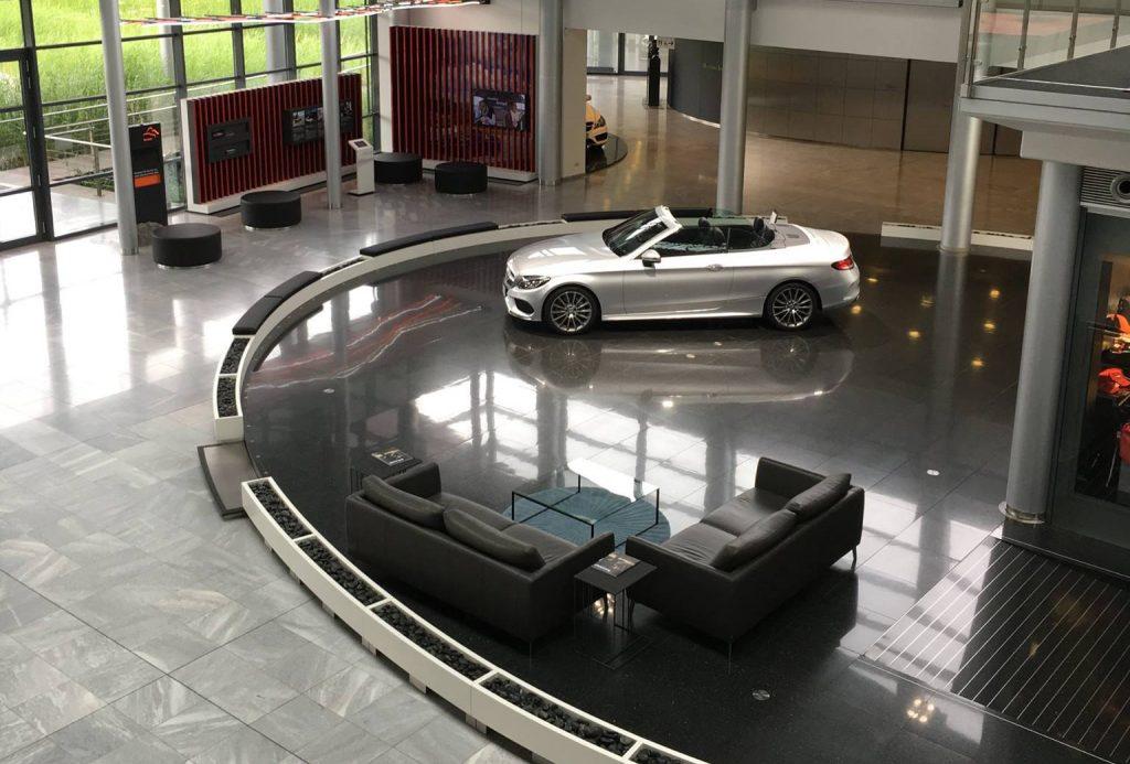 Uitje Mercedes Benz